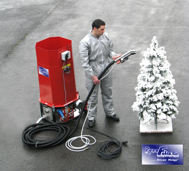 Flock machines – Artificial Snow Flock Decoration