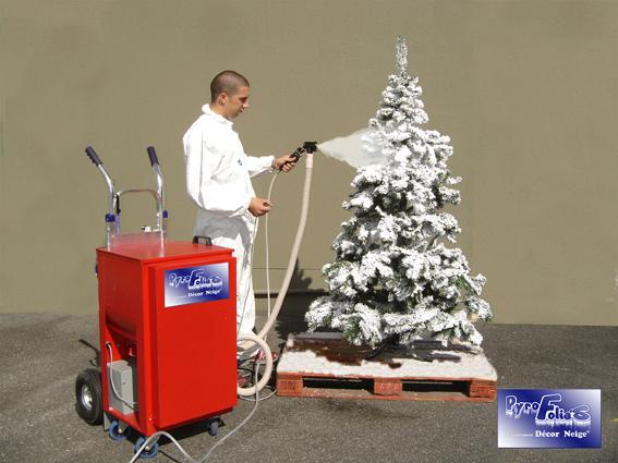 SBI-SMALL. Flock machine ... - Flock Machines €� Artificial Snow Flock Decoration